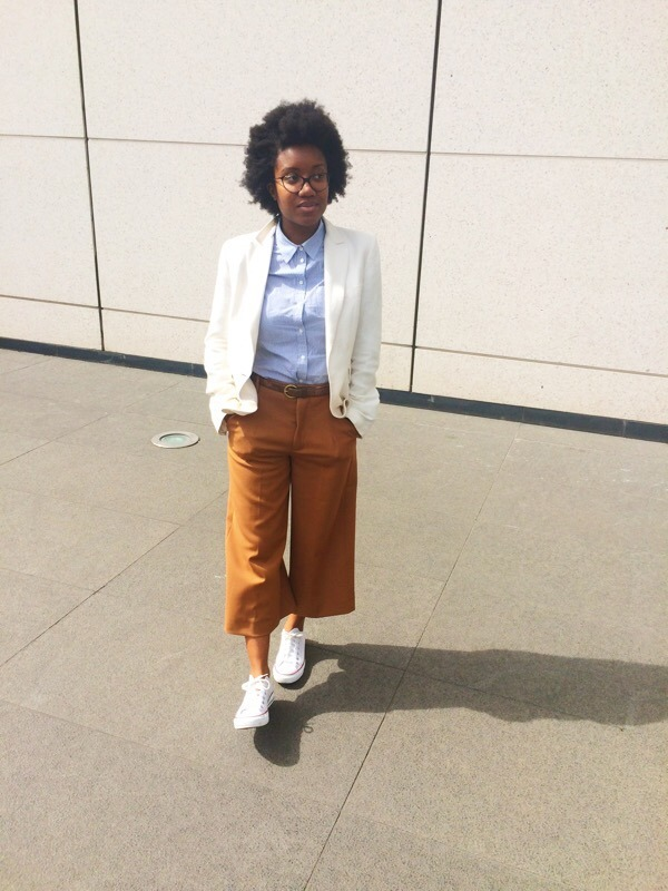 HOW TO WEAR CULOTTES AT WORK ?