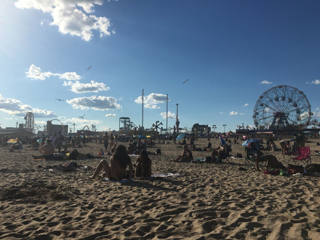 AN AFTERNOON IN CONEY ISLAND