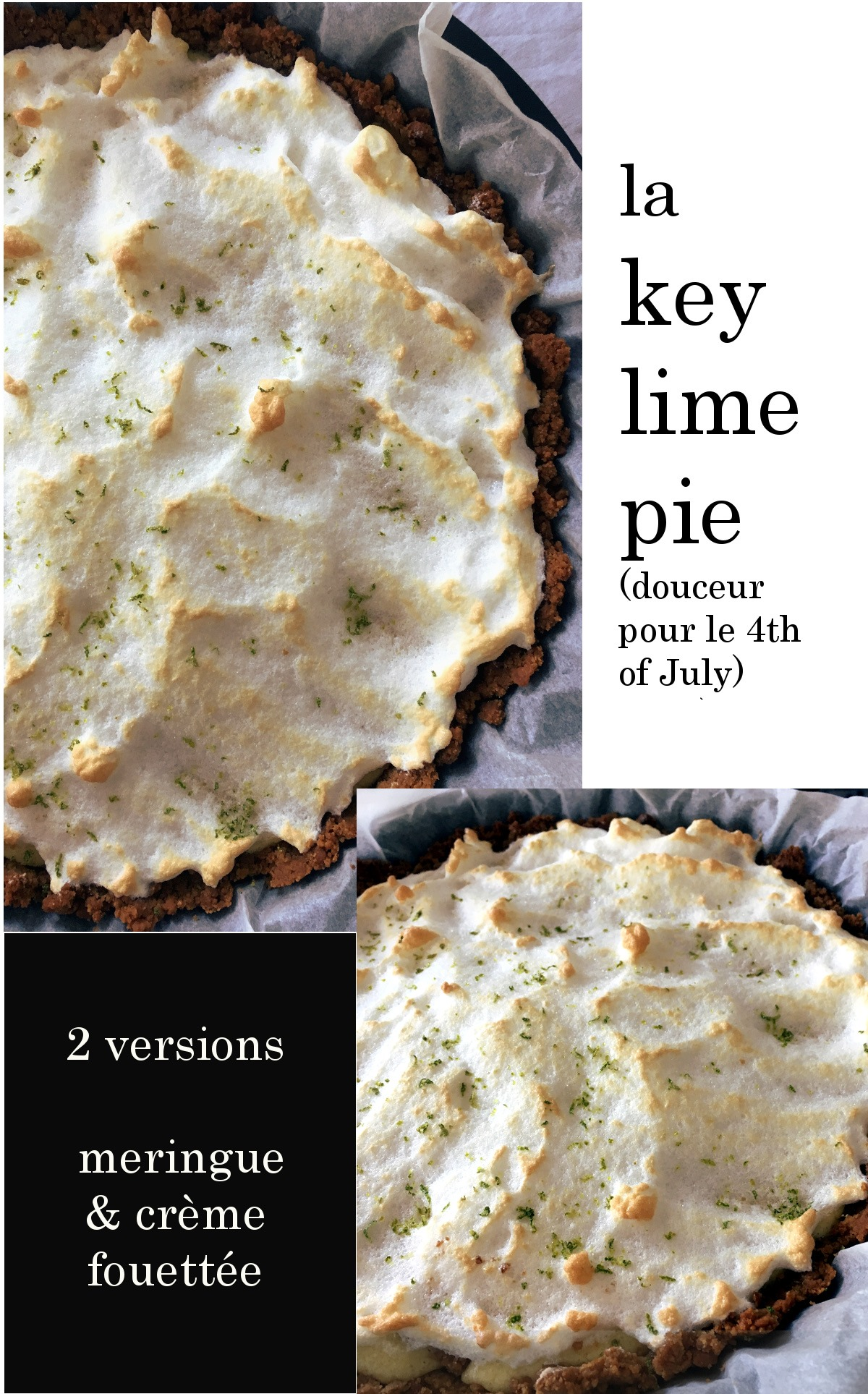 KEY LIME PIE FOR THE 4TH OF JULY