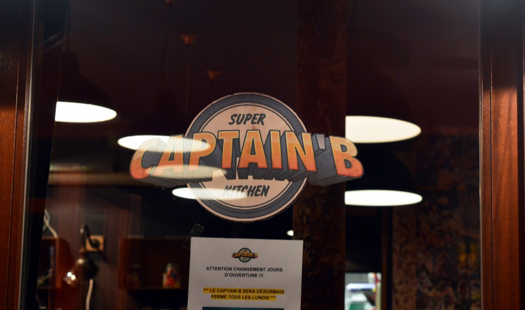 Captain B : le burger à Paris branché comics