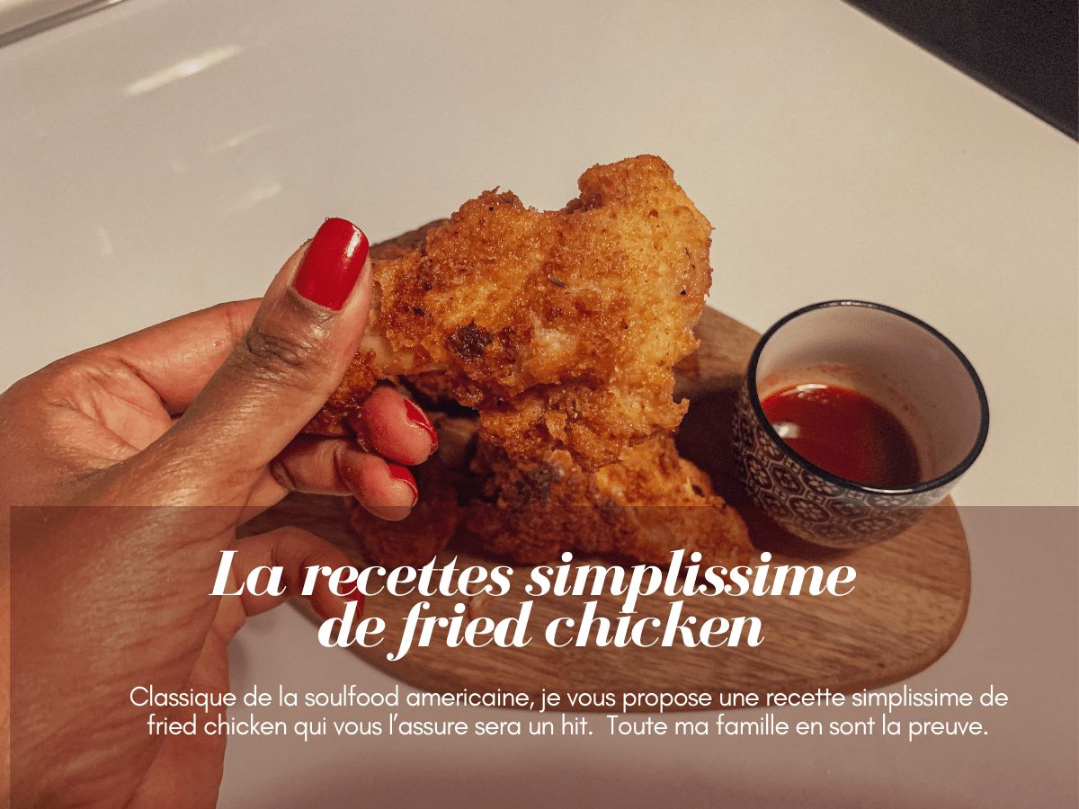 couverture article recette fried chicken